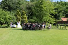A Wedding Ceremony in The Walled Garden at Sedgeford Hall Wedding Ceremony, Wedding Venues, Walled Garden, Norfolk, Acre, Dolores Park, Romantic, Travel, Beautiful