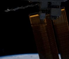 In the six-second video, the sun never sets because the ISS is flying parallel to the terminator line (the boundary between day and night). | Watch The First Ever Vine From Space