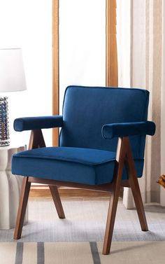 Accent Chairs For Living Room, Repurposed, Mid-century Modern, Armchair, Mid Century, House, Furniture, Home Decor, Sofa Chair