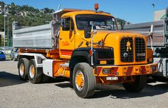 Saurer D330 #Saurer #CH #D330 #Adolph_Saurer_AG Heavy Duty Trucks, Big Rig Trucks, Rc Trucks, Heavy Truck, Dump Trucks, Pickup Trucks, Equipment Trailers, Logging Equipment, Swiss Cars