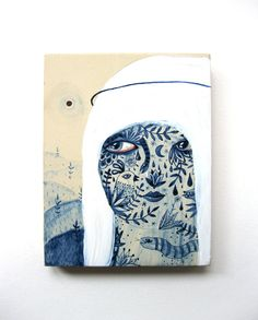 The Blue Period by Aitch , via Behance