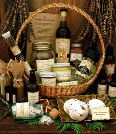 Recipes for homemade herbal gifts