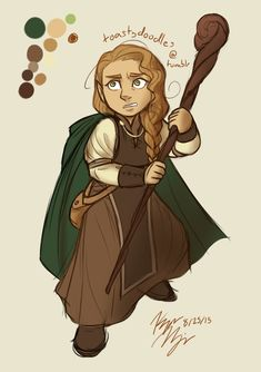 """toastydoodles: """" D&D character """"Iduna"""" warmup My lawful good halfling sorceress (who is unfortunately partnered with several evil alignments). Kid Character, Fantasy Character Design, Character Creation, Character Concept, Dungeons And Dragons Art, Dungeons And Dragons Characters, Fantasy Characters, Medieval, Fantasy Inspiration"""
