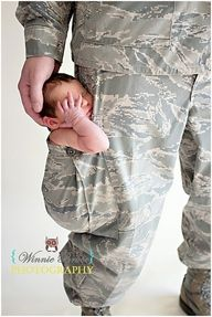 Daddy the soldier :) we are doing this. Not even going to try and be orginal i love!