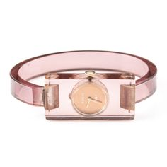 dd831a6ce8f5e0 Gucci Lucite watch on ebth $80 with 15 hrs. to go Bracelet Making, Hermes