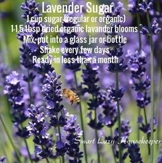 Lavender sugar is so easy to make, is delicious in baking and in Earl and Lady Grey teas, and great gifts for family and friends!