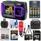 Coleman Duo Dual Screen Shock & Waterproof Digital Camera (Purple) with Card + Batteries & Charger + Case + Float Strap + Kit Photography Camera, Underwater Photography, Photography Tips, Dune, Digital Camera Tips, Digital Cameras, Aaa Battery Charger, Cameras Nikon, Thing 1