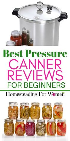 The Best Canner For Beginners is the one that's been around the longest and one that my grandma used and is still around, All American pressure canner. Canning Tips, Home Canning, Canning Recipes, Canning Process, Canning Vegetables, Growing Vegetables, Veggies, Preserving Green Beans, Preserving Food