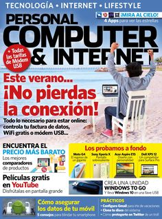 Nº julio 2016 Computer Magazines, Computer Internet, Wifi, Usb, Apps, Cool Cases, Android, Tech, Youtube