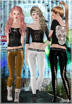 Leggings bottom by JenniSims - Sims 3 Downloads CC Caboodle