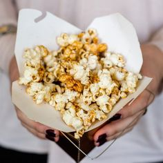 Switch from the usual plain buttered popcorn. Try this recipe with harissa and added spices. Popcorn whenever the mood strikes!