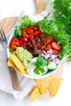 Pidempi korsi - Vegaaniruokablogi — Tabbouleh Korn, Gnocchi, Cobb Salad, Chili, Tacos, Mexican, Pasta, Vegan, Cooking
