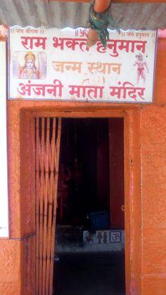 Hanuman ji Birth place at Anjaneri Hill, Nasik