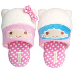 【2010】Slippers (Manufacturer: Nippon Slipper) ★Little Twin Stars★