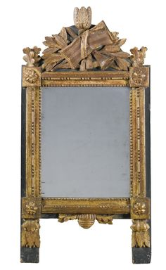 A provincial wall mirror, French late 18th century and later | lot | Sotheby's
