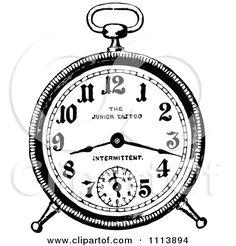 alarm clock | URBAN VIGILANTE TATTOO ARTIST  |Alarm Clock Tattoo