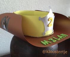 Vat geen Cowbow verjaardagsmuts
