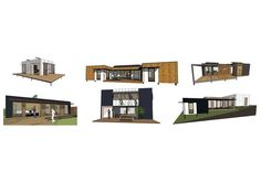 New fold-pack prefab system unveiled by MODE Homes   Architecture And Design