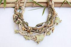 rRradionica: Bamboo Whispers . Handmade necklaces