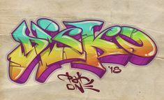 Easy Graffiti Drawings, Graffiti Pens, Graffiti Words, Graffiti Writing, Graffiti Designs, Graffiti Artwork, Graffiti Alphabet, Graffiti Styles, Graffiti Lettering