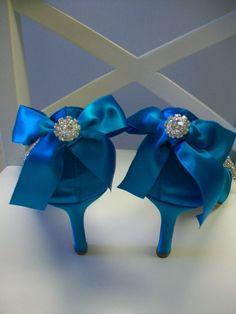 blue shoes; something blue
