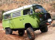 4x4 VW van