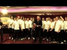 Even if you're not a football (aka soccer;) fan, this is BRILLIANT!!!  The Rocky Road To Poland - Official Republic Of Ireland Song for Euro 2012