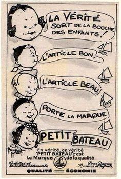 BEATRICE MALLET - Advert for Petit Bateau clothing...reépinglé par Maurie Daboux ◡ً❤