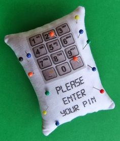 """Pincushion . . . Sewing humor. ♥!""""/ my quilts-sewing-projects/SylviaDros"""