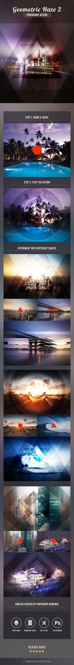 Geometric Haze 2 Photoshop Action. Download here: https://graphicriver.net/item/geometric-haze-2-photoshop-action/17279947?ref=ksioks