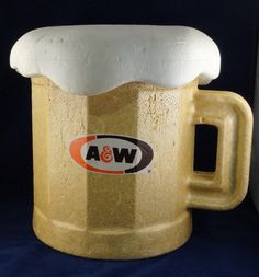 Items similar to Vintage A&W Root Beer Styrofoam Cooler Mug, Advertising Display on Etsy A&w Root Beer, Vintage Restaurant, Cool Mugs, Soda, Restaurants, Nostalgia, How To Look Better, Old Things, Advertising
