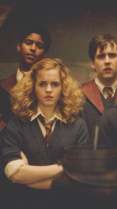 And this is how Hermione'd hair is supposed to look. Bigger, slightly frizzy. Not wind tunnel, as some seem to think and that's why they made it look different in the movies. And you know what? She still looks beautiful. So there.
