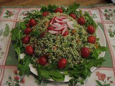 Recipe made: ISRAELI COUSCOUS SALAD WITH ARUGULA PESTO