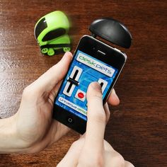 Smartphone Controlled Desk Pet Tankbots $24.99 @ Think Geek