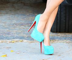 wow shoes turquoise perfect