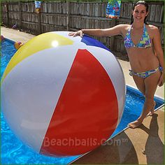 Giant 5-ft Signature Series Beach Balls for $79.95 each Beach Ball, Balls, Traditional, Shit Happens