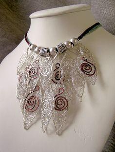 Wire Moon » Black wire Jewellery
