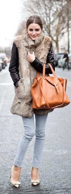 El abrigo de piel nunca falla si sabes llevarlo!