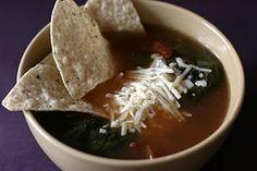Vegetarian Tortilla Soup CrockPot Recipe