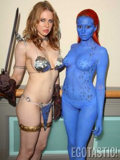 Red Sonja and Mystique, by Maitland Ward.
