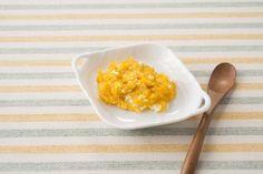 【ベネッセ|離乳食・レシピ】上手にゴックンと飲み込めるようになって、いやがらずに食事がとれていれば食事の回数を増やし、少し食感のあるかたさに進めてみましょう。今回は、簡単にできるかぼちゃのチーズサラダの作り方をご紹介します。