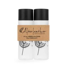 Refillable Travel Bottles - TSA Compliant adorable travel bottles! Why not get cute ones, right?