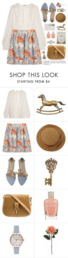 """join our 'raffia' contest (view description)"" by jesuisunlapin ❤ liked on Polyvore featuring Miu Miu, Charles Anastase, Emilio Pucci, Gucci, Zoya, Olivia Burton, Penguin Group, vintage, VintageInspired and pastels"