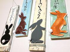 Tavaszi húsvétváró dekoráció egyszerűen - habkartonnal, fadeszkával - Art-Export webáruház