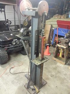 Hammer, update... The hammer works great, it is a thirty five pound hammer. I am thinking about upgrading it and building a dupont style linkage and foo... - Cristopher Coleman - Google+
