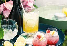 Maracuja-Limetten-Cocktail