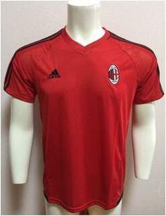 www.ckess.es Camiseta De Fútbol Serie A  Camiseta De Futbol AC Milan 1718 Rojo SAT04