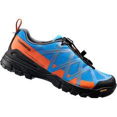 MT54 SPD shoes, blue / orange, size 43