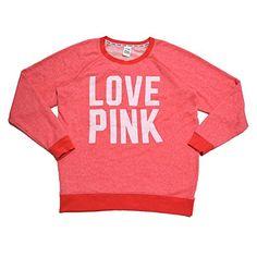 #pinkbyvictoriassecret #vs #lovepink #crew #sweatshirt $40.99  Victoria's Secret Pink Sweatshirt Pullover (Orange Heather, Large) Victoria's Secret http://www.amazon.com/dp/B015Y9Z1EQ/ref=cm_sw_r_pi_dp_4lvewb11E8PR7