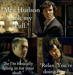 I don't have a skull...or bones.